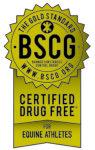 Certified Drug Free Equine Athletes Gold