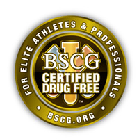 BSCG Certifified Drug Free