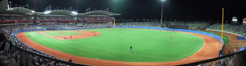 Baseball Stadium, Sydney Olympic Games - Photo by Oliver Catlin