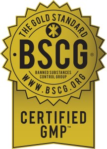 BSCG Certified GMP - Gold Seal