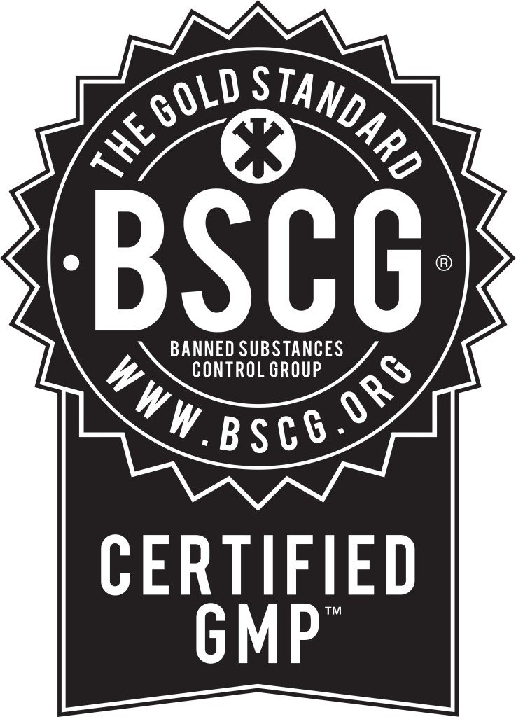 BSCG Certified GMP - Black Seal