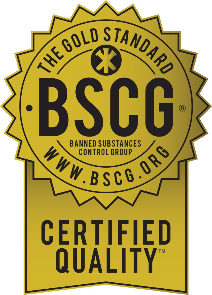 BSCG Certified Quality - Gold Seal