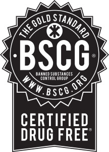 BSCG Certified Drug Free - Certification and Testing for Banned Substances