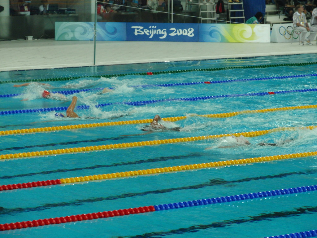 2008 Beijing Olympic Games Swimming - Photo by Oliver Catlin