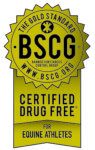 Certified Drug Free Equine Athletes Gold