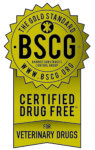 Certified Drug Free Veterinary Drugs Gold