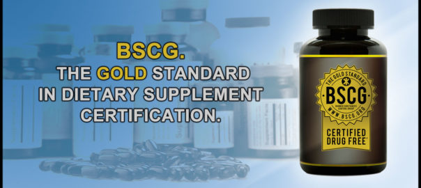 BSCG The Gold Standard in Dietary Supplement Certification